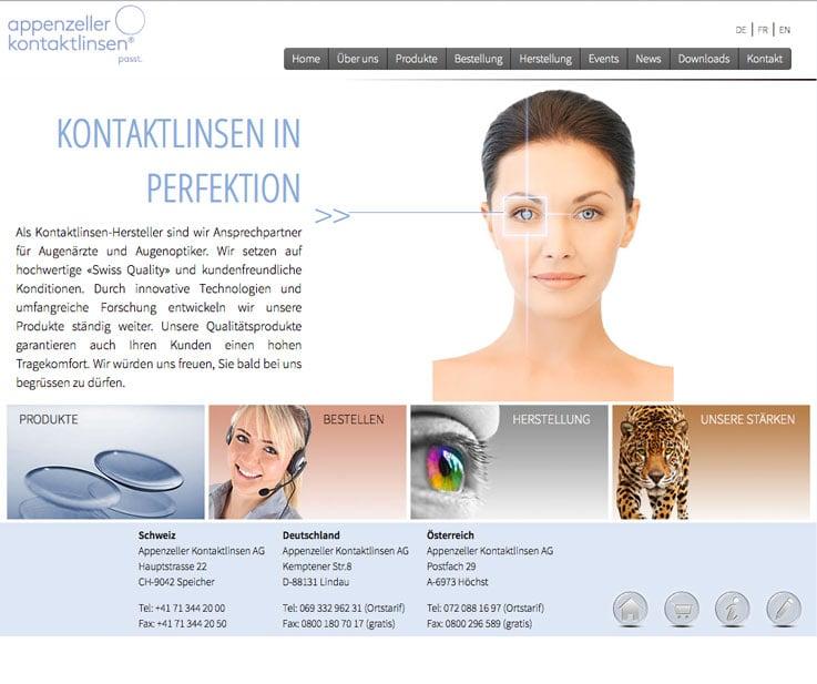 Kreatve Webmaster in unserer Webagentur für das Appenzell