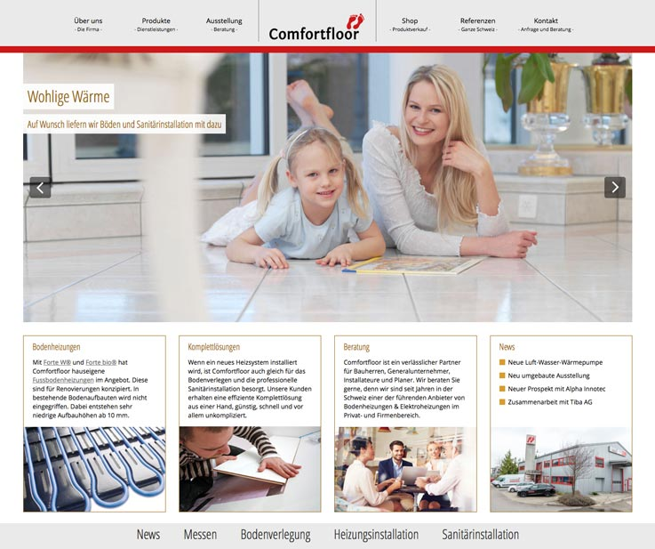 Erfolg mit neuem Webdesign in Ettiswil