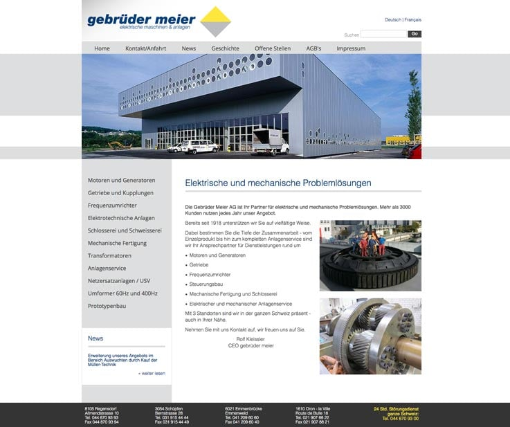 Die Webmaster unserer modernen Webagentur in Freiburg