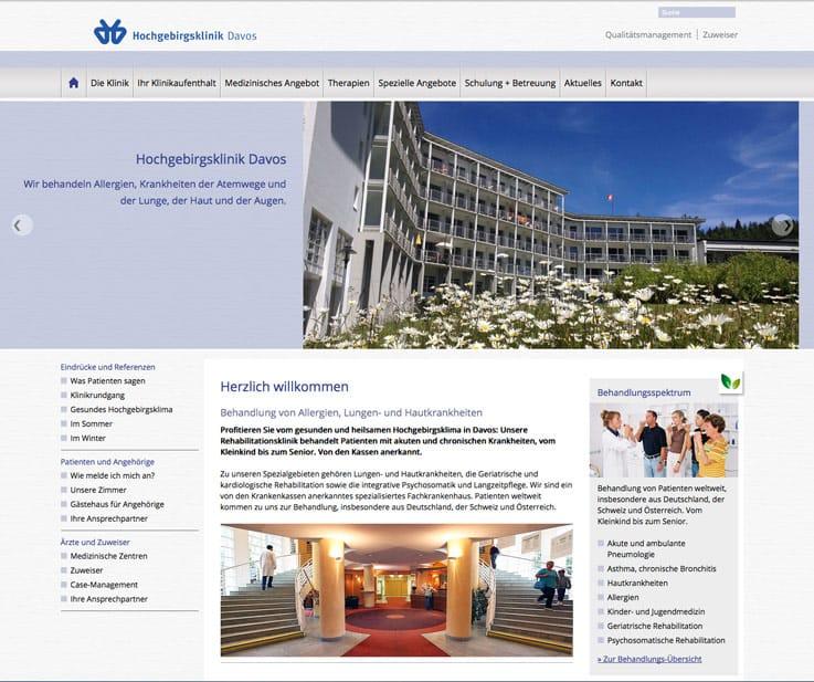 Homepage und Webseite in Graubünden mit Fotos erstellen