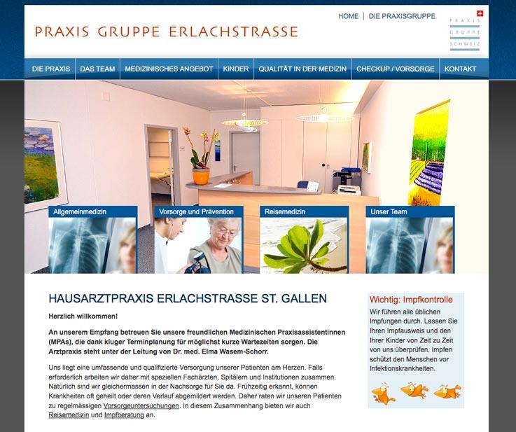 Zeitgemässe Schaffhauser Homepage und Webseite erstellen