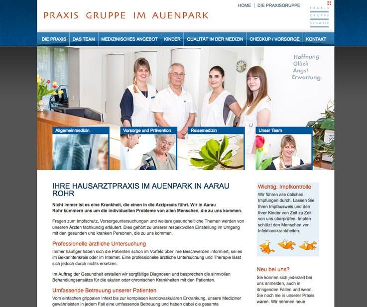 Webagentur und Webmaster für den Aargau
