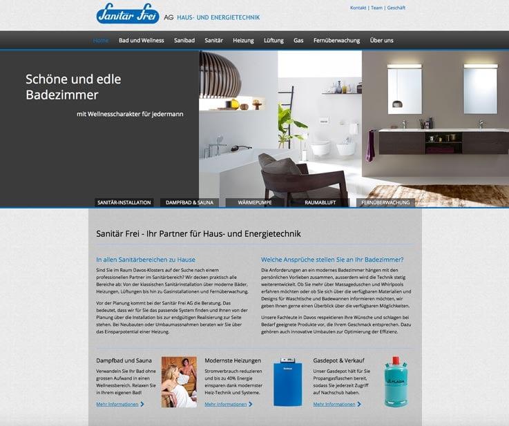 Ostschweiz – Homepage und Webseite erstellen auch fürs Handy