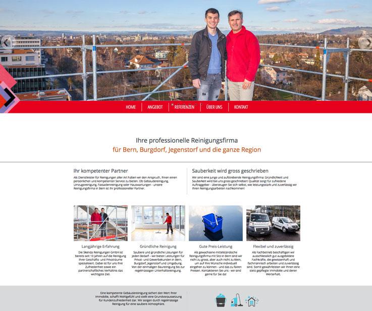 Ihre Webagentur für Bern – Webmaster für die neue Homepage
