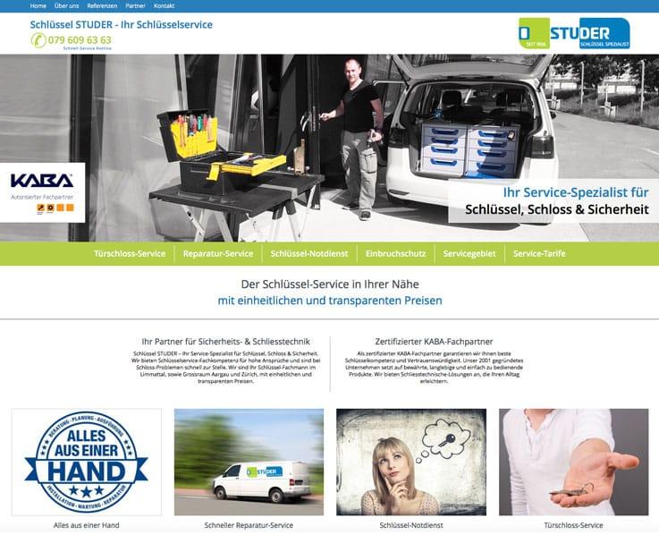 Unsere Webmaster erstellen Homepages und Webseiten mit Fotoshooting für Beinwil am See